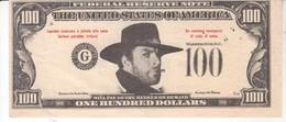 3825      100   DOLLARS  WESTERN - Buoni & Necessità