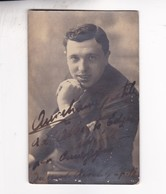 AURELIANO PERTILE (1885-1952) TENOR ITALIANO. BUENOS AIRES 1918 AUTOGRAPH  - BLEUP - Autographs