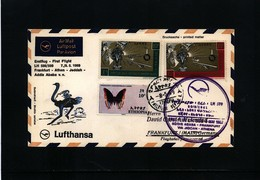 Ethiopia 1969 Lufthansa First Flight Addis Ababa - Frankfurt - Äthiopien