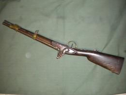 Ancien Fusil Militaire A Silex A Identifier - Armes Neutralisées