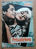 "BRIGITTE BARDOT In ""Privatleben"" Mit Marcello Mastroianni, Dick Sanders ... Altes IFB-Filmprogramm /a239 - Magazines"