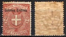 ITALIA - ERITREA - 1895 - STEMMA SABAUSO - MNH - Erythrée