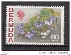 ##5, Bermuda, 1970, MH, Fleur, Flower, Plumbago - Bermudes