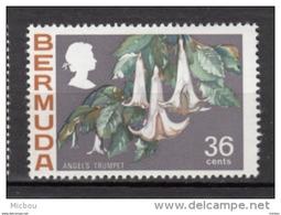 ##5, Bermuda, 1970, MH, Fleur, Flower, Angel's Trumpet - Bermudes