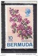 ##5, Bermuda, 1970, MH, Fleur, Flower, Bougainvillier, Bougainvillea - Bermudes