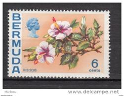 ##5, Bermuda, 1970, MH, Fleur, Flower, Hibiscus - Bermudes