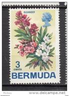##5, Bermuda, 1970, MH, Fleur, Flower, Oleander - Bermudes