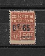 Colis Postal N° 60 ** TTBE - Cote Y&T 2019 De 5 € - Colis Postaux