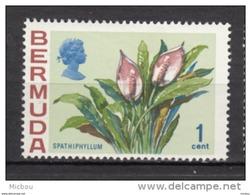 ##5, Bermuda, 1970, MH, Fleur, Flower, Spathiphyllum - Bermudes