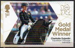 GREAT BRITAIN 2012 Olympic Games Gold Medal Winners: Charlotte Dujardin - Neufs