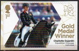 GREAT BRITAIN 2012 Olympic Games Gold Medal Winners: Charlotte Dujardin - 1952-.... (Elizabeth II)