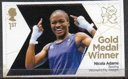 GREAT BRITAIN 2012 Olympic Games Gold Medal Winners: Nicola Adams - 1952-.... (Elizabeth II)