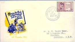 1961 , AUSTRALIA , SOBRE DE PRIMER DIA , MELBOURNE - Sobre Primer Día (FDC)