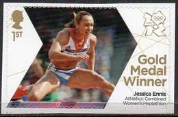 GREAT BRITAIN 2012 Olympic Games Gold Medal Winners: Jessica Ennis - 1952-.... (Elizabeth II)