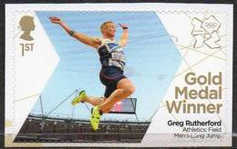 GREAT BRITAIN 2012 Olympic Games Gold Medal Winners: Greg Rutherford - 1952-.... (Elizabeth II)