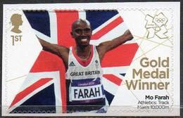 GREAT BRITAIN 2012 Olympic Games Gold Medal Winners: Mo Farah - 1952-.... (Elizabeth II)