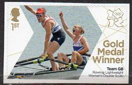 GREAT BRITAIN 2012 Olympic Games Gold Medal Winners: Women's Light Double Sculls - 1952-.... (Elizabeth II)