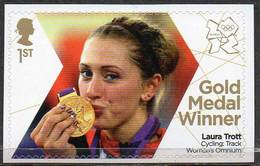 GREAT BRITAIN 2012 Olympic Games Gold Medal Winners: Laura Trott - 1952-.... (Elizabeth II)