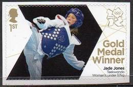 GREAT BRITAIN 2012 Olympic Games Gold Medal Winners: Jade Jones - 1952-.... (Elizabeth II)