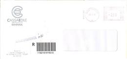 ITALIA - ITALY - ITALIE - 2002 - 002,99€ EMA, Red Cancel - Cassa Edile Della Provincia Di Ravenna - Raccomandata A.R. - - Marcophilie - EMA (Empreintes Machines)