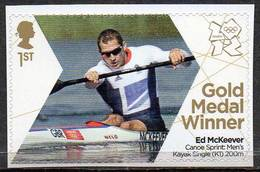 GREAT BRITAIN 2012 Olympic Games Gold Medal Winners: Ed McKeever - 1952-.... (Elizabeth II)