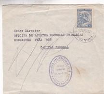 ENVELOPE CIRCULEE 1964 A OFICINA DE ESCUELAS PRIMARIAS, BUENOS AIRES. OBRA DE LA CONSERVACION DE LA FE. - BLEUP - Argentine