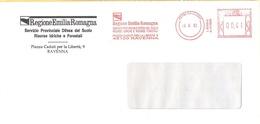 ITALIA - ITALY - ITALIE - 2002 - 00,41€ EMA, Red Cancel - Regione Emilia-Romagna - Viaggiata Da Ravenna - Marcophilie - EMA (Empreintes Machines)