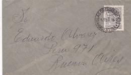 ENVELOPE CIRCULEE 1945 ISLAS ORCADAS DEL SUD A BUENOS AIRES, AUTRE MARQUE-RARE - BLEUP - Argentine