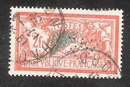 Perforé/perfin/lochung France Merson No 145 Forges De La Providence (2) - Perforés