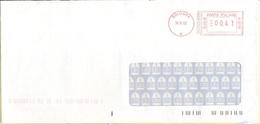 ITALIA - ITALY - ITALIE - 2002 - 00,41€ EMA, Red Cancel - Viaggiata Da Bologna - 1946-.. République