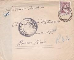 ENVELOPE CIRCULEE 1949 CAMPO DUIJANO A.ACADEMIA PETRONIO BUENOS AIRES AUTRES MARQUES...-RARE - BLEUP - Argentine