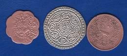 Tibet  3  Pieces - Coins