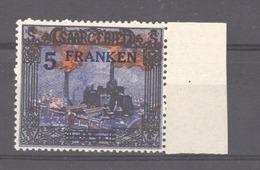 Sarre  :  Mi  83  **     Dentelure Intacte - 1920-35 Société Des Nations
