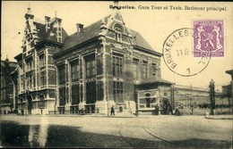 Laeken : Gare Tour Et Taxis : Bâtiment Principal - Laeken
