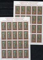 """LIECHTENSTEIN AÑO 1989 SERIE IVERT 919/21,  PLIEGOS  """"  NAVIDAD  """"   MNH. - Non Classés"""