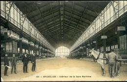 Laeken :  Intérieur De La Gare Maritime - Laeken