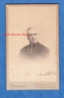 Photo Ancienne CDV - DOMME - Portrait & Autographe De L' Abbé Montet ? - 1916 - Photographe Provost Toulouse - Guerre, Militaire