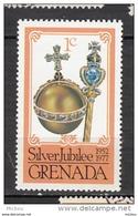 Grenada, Bijoux, Crown Jewels, Minéraux, Minerals, Diamant, Diamond, Silver Jubilee, Joyaux De La Couronne, Or, Gold - Minéraux