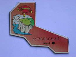 Magnet Le Gaulois DEPARTEMENT FRANCE 62 Pas-de-Calais - Magnets