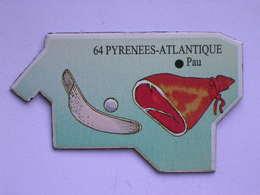 Magnet Le Gaulois DEPARTEMENT FRANCE 64 Pyrénées-Atlantique - Magnets