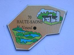 Magnet Le Gaulois DEPARTEMENT FRANCE 70 Haute-Saône - Magnets