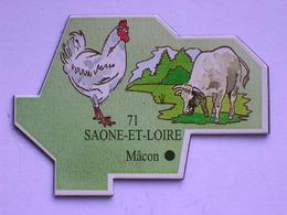Magnet Le Gaulois DEPARTEMENT FRANCE 71 Saône-et-Loire - Magnets