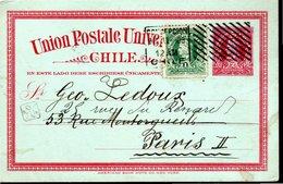ENTIER POSTAL 1906 - - Chili