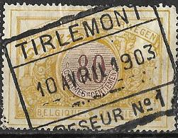 9S-826: TR39:  TIRLEMONT // PESEUR N°1: Type C_PN1 - Chemins De Fer