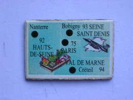 Magnet Le Gaulois DEPARTEMENT FRANCE 75-92-93-94 - Magnets
