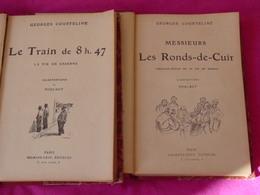 Courteline * MESSIEURS LES RONDS-DE-CUIR *la Vie De Bureau ..illustré Par POULBOT / & Gyp,Veber,Destez,A.Allais - Livres, BD, Revues