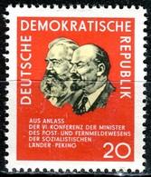DDR - Mi 1120 - ** Postfrisch (A) - 20Pf         Konferenz Der Post- Und Fernmeldeminister - DDR
