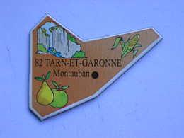 Magnet Le Gaulois DEPARTEMENT FRANCE 82 Tarn-et-Garonne - Magnets