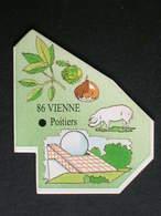 Magnet Le Gaulois DEPARTEMENT FRANCE 86 Vienne - Magnets