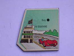 Magnet Le Gaulois DEPARTEMENT FRANCE 91 Essonne - Magnets